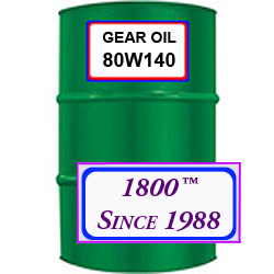 80W140 SYNTHETIC GEAR OIL