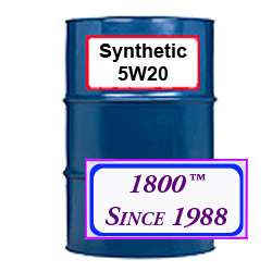 5W/20 SYNTHETIC MOTOR OIL
