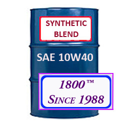 SYNTHETIC BLEND MOTOR OIL 10W40
