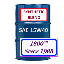 SYNTHETIC BLEND MOTOR OIL 15W40