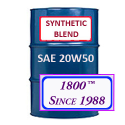 SYNTHETIC BLEND MOTOR OIL 20W50