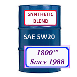 SYNTHETIC BLEND MOTOR OIL 5W20