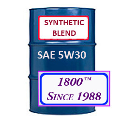 SYNTHETIC BLEND MOTOR OIL 5W30