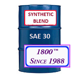 SYNTHETIC BLEND MOTOR OIL SAE 30