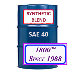 SYNTHETIC BLEND MOTOR OIL SAE 40